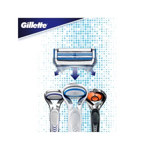 Gillette Skinguard Sensitive Yedek Tıraş Bıçağı 4'lü