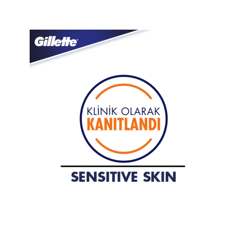 Gillette Skinguard Sensitive Tıraş Jeli 200 Ml