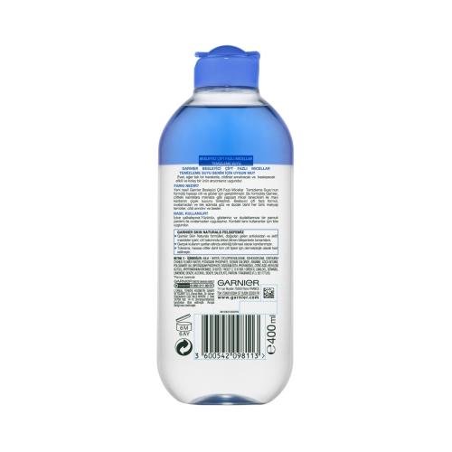Garnier Besleyici Çift Fazlı Mavi Micellar Temizleme Suyu 400 Ml