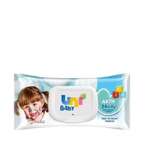 Uni Baby Simple Clean Islak Bebek Mendili 72'li