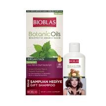 Bioblas Botanic Oils Şampuan Isırgan 360 Ml + 150 Ml Argan Şampuan