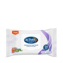 Activex Antibakteriyel Islak Havlu Hassas Kapaklı 56'lı