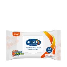 Activex Antibakteriyel Islak Havlu Aktif Kapaklı 56'lı
