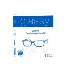 Glassy Gözlük Temizleme Mendili 12 Tekli Paket