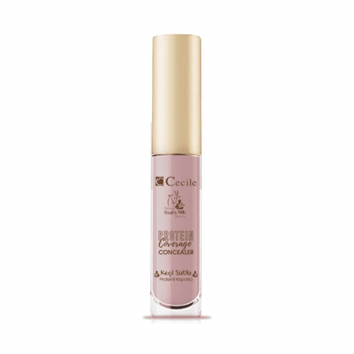 Cecile Nature Goat's Milk Beauty Protein Coverage Concealer Soft Pink 01