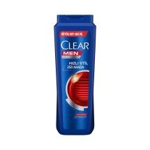 Clear Şampuan 600 Ml Men Hızlı Stil 2'si 1 Arada