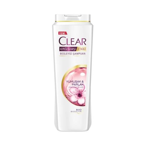 Clear Şampuan 600 Ml Yumuşak&Parlak 2'si 1 Arada