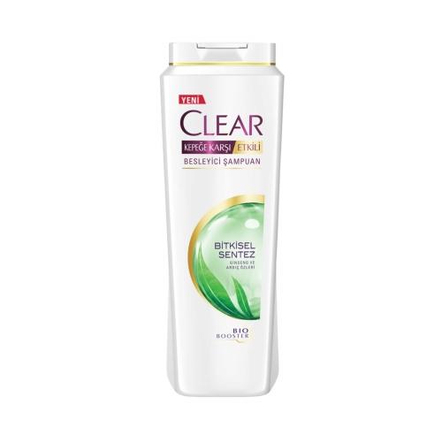 Clear Şampuan 600 Ml Bitkisel Sentez Women