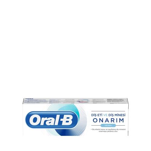 Oral-B Diş Eti ve Diş Minesi Onarım Original Diş Macunu 75 Ml