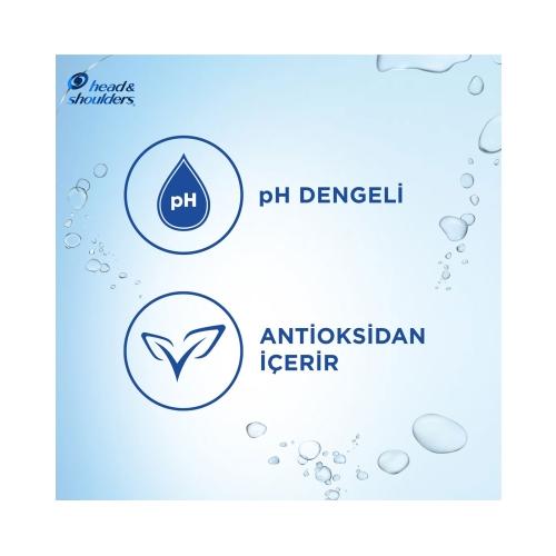 Head&Shoulders Hindistan Cevizi Yağı Derinlemesine Nemlendirici Şampuan 400 Ml