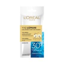 L'Oréal Paris Yaş Uzmanı 30+ Canlandırıcı Kağıt Göz Maskesi 1 Adet