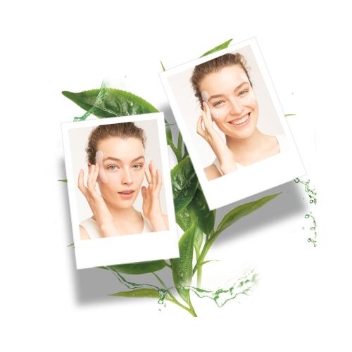 Garnier Nem Bombası Kaz Ayaklarına Karşı Kağıt Göz Maskesi Yeşil Çay  & Hyaluronil Asit 1 Adet