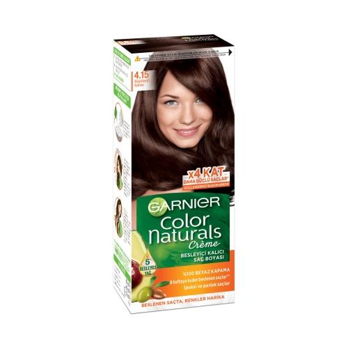 Garnier Color Naturals Saç Boyası 4-15 Büyüleyici Kahve