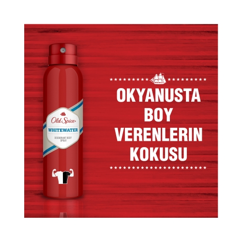 Old Spice Whitewater Deodorant Body Spray 150 Ml