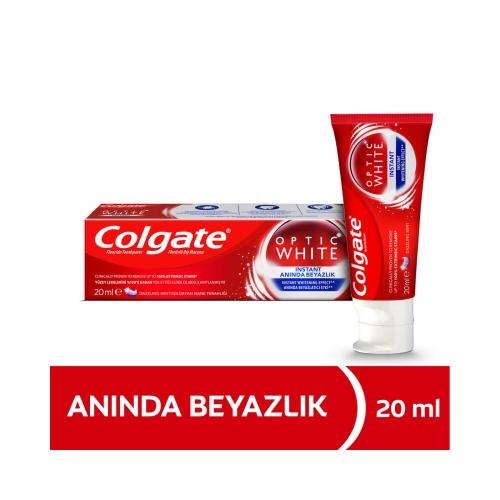 Colgate Optic White Anında Beyazlık Beyazlatıcı Diş Macunu 20 Ml