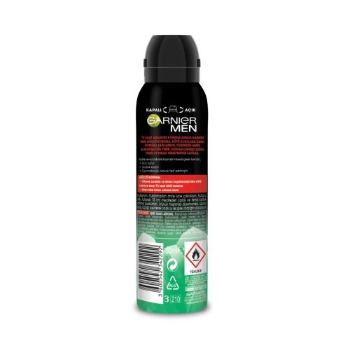Garnier Men Deodorant Sprey Güçlü Koruma 150 Ml