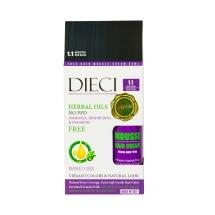 Dieci Herbal Oil Amonyaksız Kit Boya 1.1 Mavi Siyah