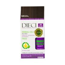 Dieci Herbal Oil  Amonyaksız Kit Boya 4.0 Orta Kahve