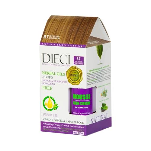 DieciHerbal Oil  Amonyaksız Kit Boya 6.7 Koyu Sarı Kakao