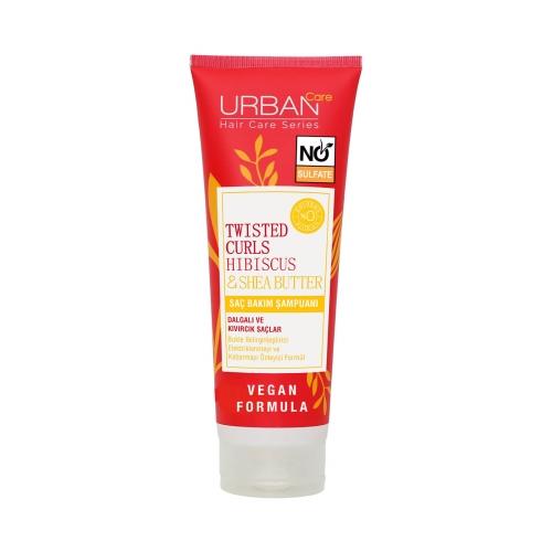 Urban Care Twisted Curls Hibiscus & Shea Butter Saç Bakım Şampuanı 250 Ml
