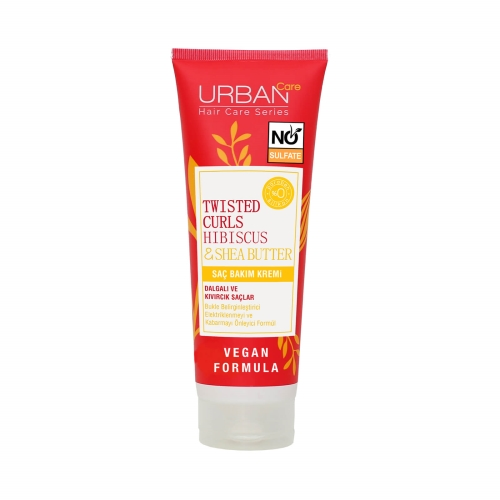 Urban Care Twisted Curls Hibiscus & Shea Butter Saç Bakım Kremi 250 Ml