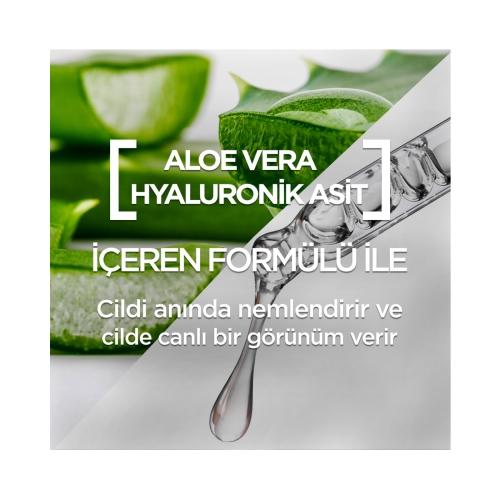 Garnier Hyaluronik Asit + Aloe Vera Tazeleyici Kağıt Yüz Maskesi