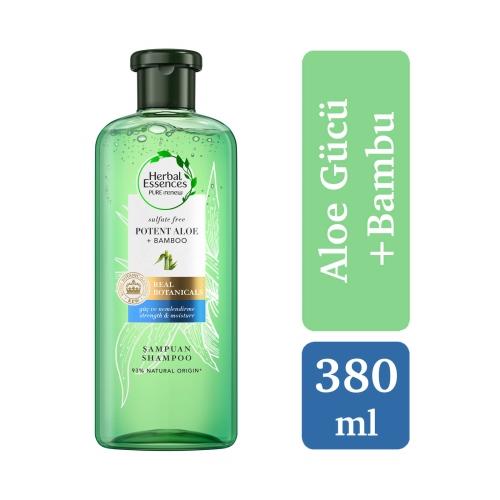 Herbal Essences Aloe Gücü + Bambu 380 Ml Şampuan