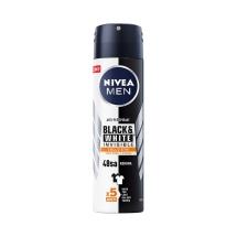 Nivea Deodorant Sprey Invisible Black&White Güçlü Etki Erkek 150 Ml