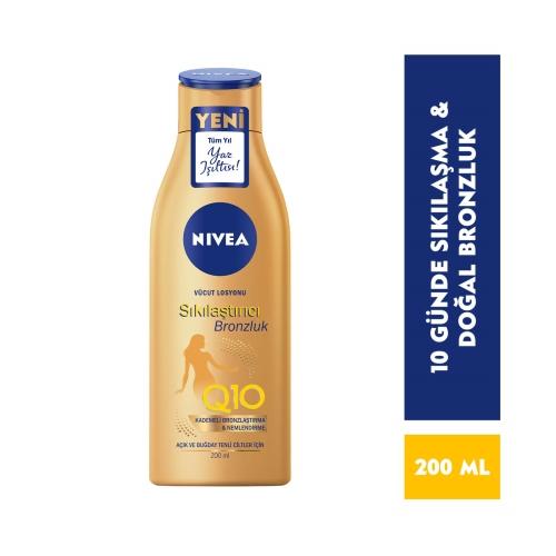 Nivea Body Q10 Sıkılaştırıcı + Bronzluk Losyon 200 Ml