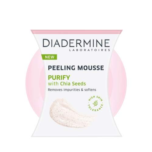 Diadermine Peeling Mousse Purify With Chia Seeds 75 Ml