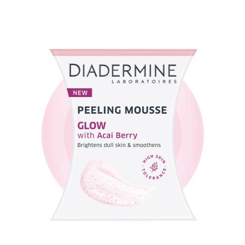Diadermine Peeling Mousse Glow With Acai Berry 75 Ml