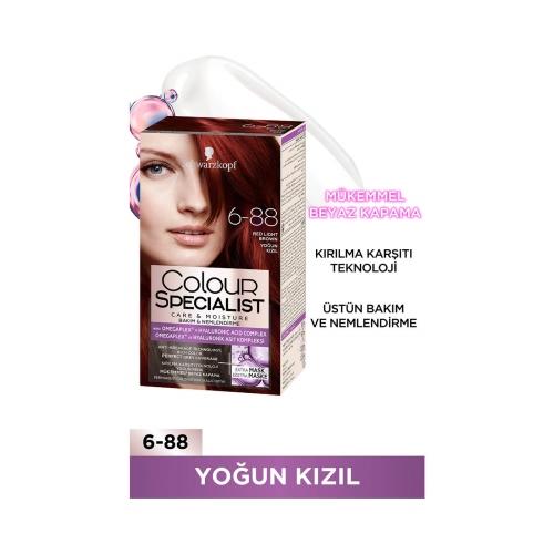 Colour Specialist Yoğun Kızıl 6-88
