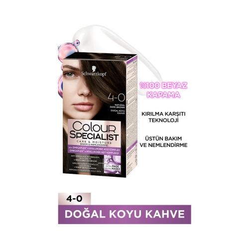 Colour Specialist Doğal Koyu Kahve 4-0