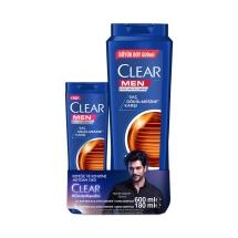 Clear Men Saç Dökülmesine Karşı Şampuan 600 Ml ve 180 Ml Seti