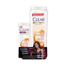 Clear Saç Dökülmesine Karşı Şampuan 600 Ml ve 180 Ml Seti