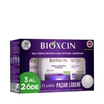Bioxcin Saç Dökülmesine Karşı Siyah Sarımsak Şampuanı 300 Ml (3 Al 2 Öde)