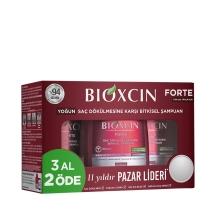 Bioxcin Forte Saç Dökülmesine Karşı Bakım Şampuanı 300 Ml (3 Al 2 Öde)