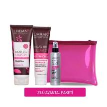 Urban Care Argan Oil & Keratin Saç Bakım Şampuanı Set-1