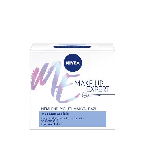 Nivea Make Up Expert Mat Makyaj İçin Nemlendirici Jel Makyaj Bazı 50 Ml