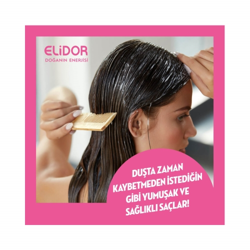 Elidor Süper Saç Bakım Maskesi Duş Öncesi Bakım Avokado Ve Üzüm Çekirdeği Yağı 30 Ml