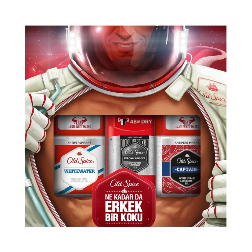 Old Spice Captain Clear Gel 70 Ml