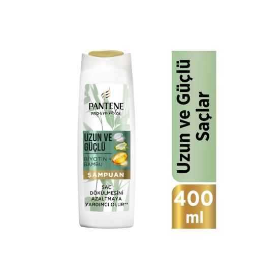 Pantene Miracles Bambu & Biotin Uzun Ve Güçlü Serisi Şampuan 400 Ml