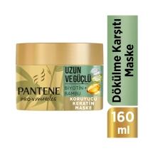 Pantene Miracles Bambu & Biotin Uzun Ve Güçlü Serisi Maske 160 Ml