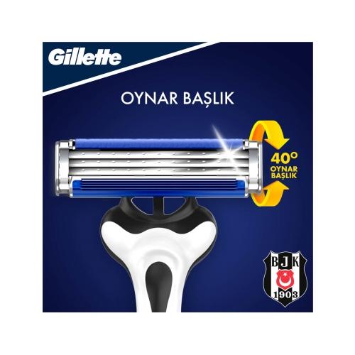 Gillette Blue3 6'lı Beşiktaş Taraftar Özel Seri