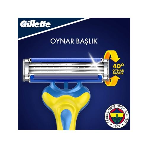 Gillette Blue3 6'lı Fenerbahçe Taraftar Özel Seri