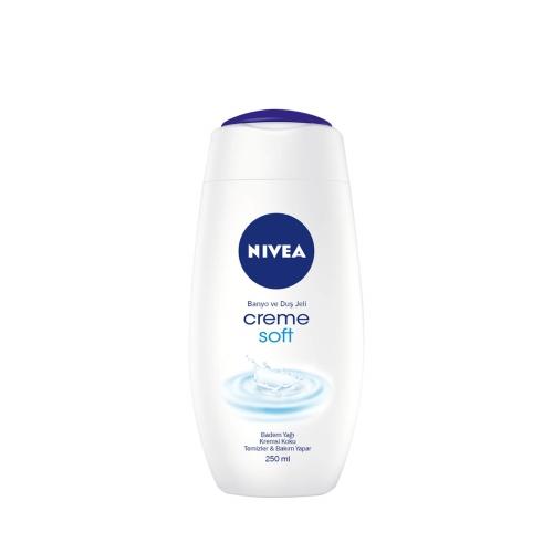 Nivea Duş Şampuanı Creme Soft 250 Ml