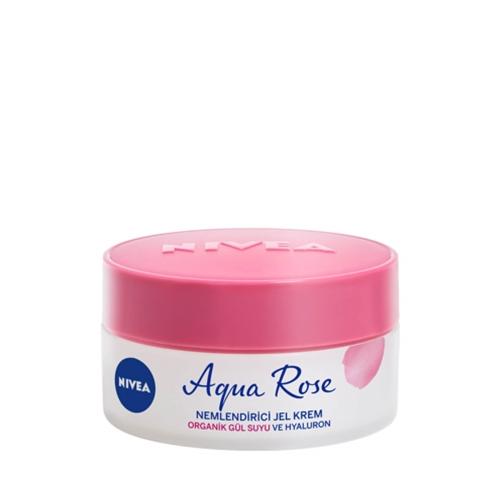 Nivea Aqua Rose Nemlendirici Jel Krem Tüm Cilt Tipleri 50 Ml