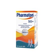 Pharmaton 50+ Omega 3 60 Kapsül