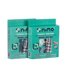 Nimo Maske Desenli Yetişkin Kumaş 2'li Yıkanabilir