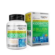 Big Joy Vitamins Kidobiotic Kids Probiotic Çiğneme Tableti 60 Adet